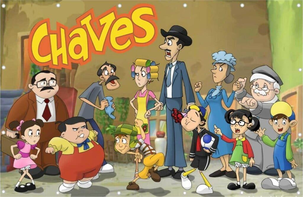Televisa mandou dublar episódios da série Chaves em Desenho para evitar problemas com dubladores (foto: Reprodução)