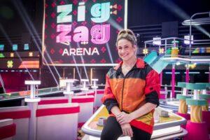 Fernanda Gentil comanda o Zig Zag Arena a partir do dia 3 de outubro na Globo (foto: Globo/João Cotta)
