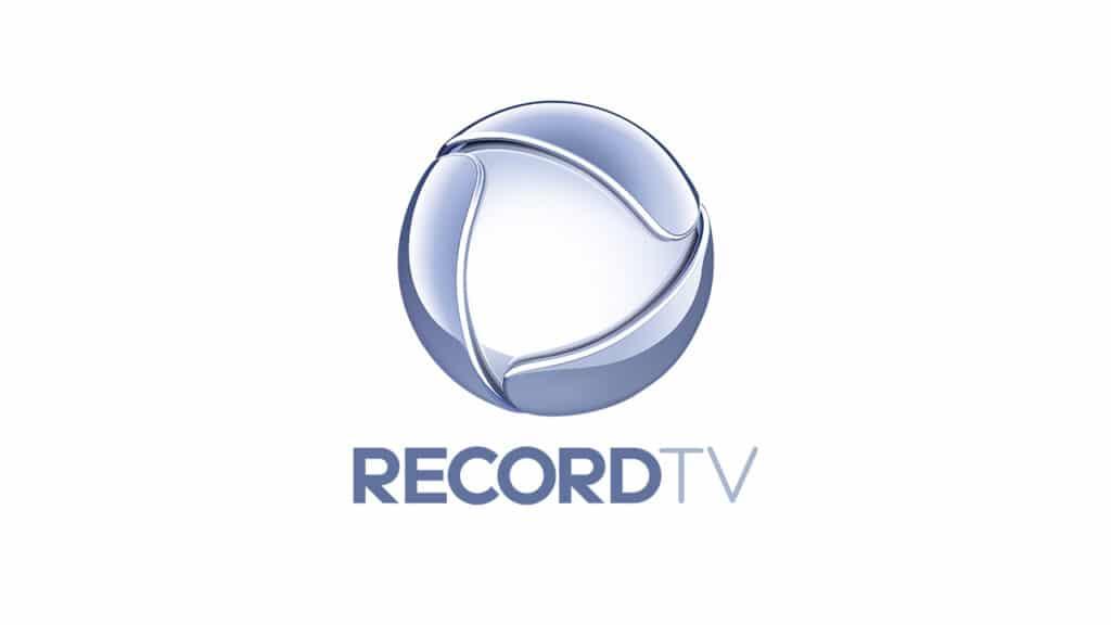 Imagem com o logotipo da Record