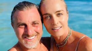 Luciano Huck e Angélica eram comprometidos quando se apaixonaram (foto: Reprodução)