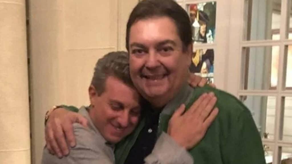 Luciano Huck garante que amizade com Fausto Silva não está abalada após ele assumir o Domingão na Globo (foto: Reprodução)