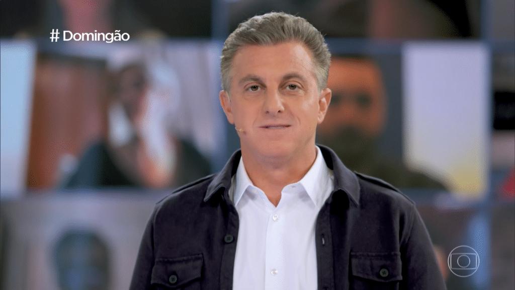 Luciano Huck estreou como novo apresentador do Domingão (foto: Reprodução/TV Globo)