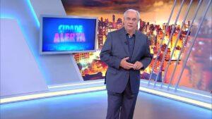 Espólio do apresentador Marcelo Rezende foi condenado a indenizar homem por erro no Cidade Alerta (foto: Reprodução)