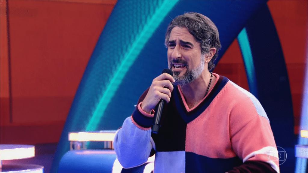 Marcos Mion estreou no Caldeirão e conseguiu mobilizar a internet (foto: Reprodução/TV Globo)