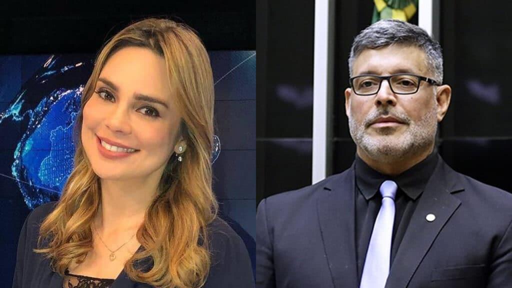 Ex-apresentadora do SBT Brasil, Rachel Sheherazade perdeu processo contra o deputado federal Alexandre Frota (foto: Reprodução)