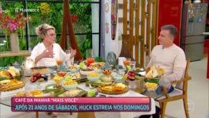 Em conversa com Luciano Huck, Ana Maria Braga revelou que vai passar por cirurgia nos olhos (foto: Reprodução/Globo)