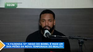 Nego do Borel quer ser descancelado em A Fazenda 13 (foto: Reprodução/Record)