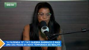 Tati Quebra Barraco tem como inspiração Viviane Araújo e Andressa Urach (foto: Reprodução/Record)