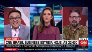 Monalisa Perrone revelou que Phelipe Siani ficava bravo quando tinha que usar terno (foto: Reprodução/CNN Brasil)