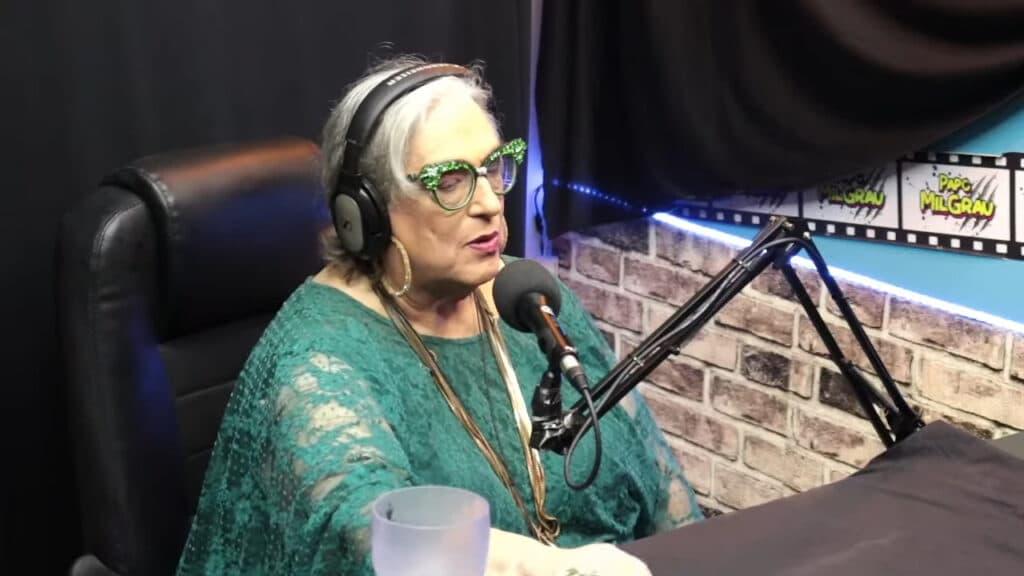 Em entrevista, Mamma Bruschetta contou que seu órgão genital desapareceu (foto: Reprodução)