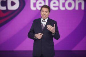 Participação de Silvio Santos no Teleton 2021 ainda é incerta; evento acontece nos dias 22 e 23 de outubro no SBT (foto: Reprodução)