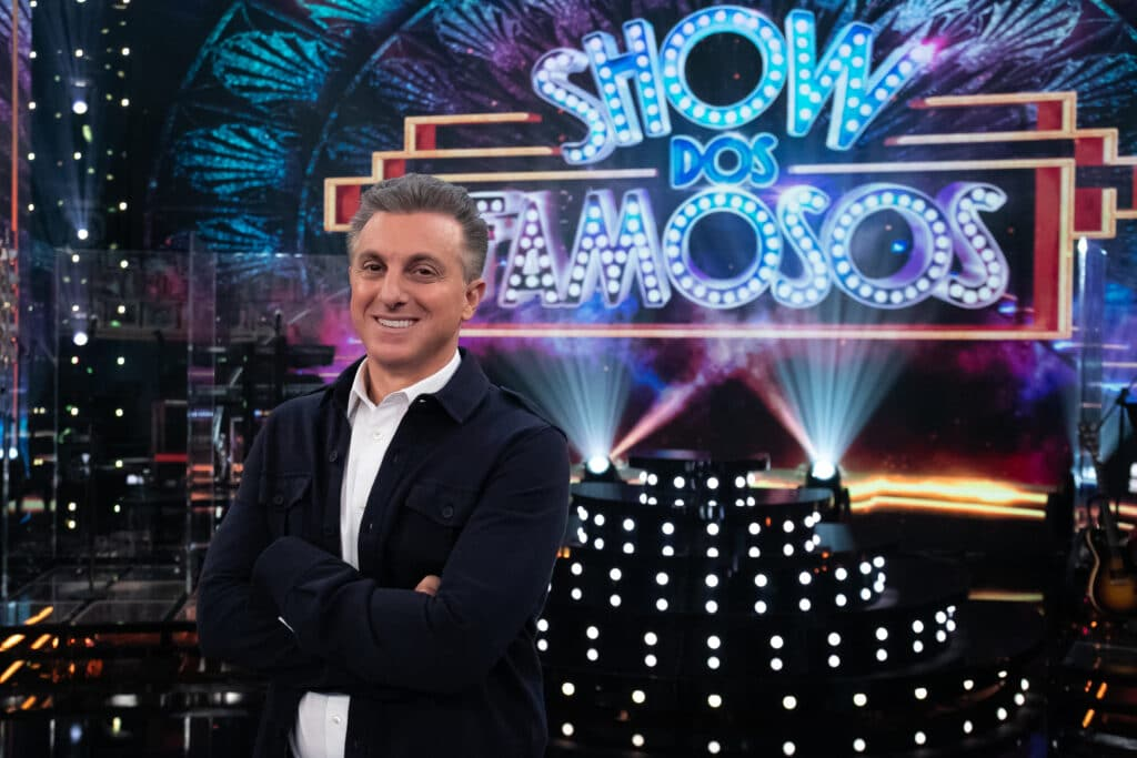 Luciano Huck estreia na apresentação do Domingão (foto: Globo/Marcos Rosa)