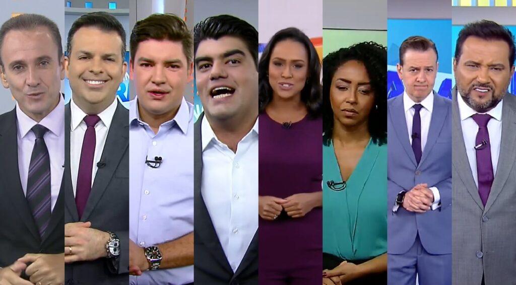 Oito apresentadores passaram pelo Balanço Geral Manhã em quatro anos (foto: Reprodução/Record)