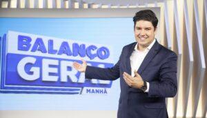 Bruno Peruka não foi comunicado pela Record de que deixaria o Balanço Geral Manhã (foto: Divulgação/Record)