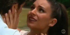 Coração Indomável terá cena romântica nos próximos capítulos (foto: Reprodução/SBT)