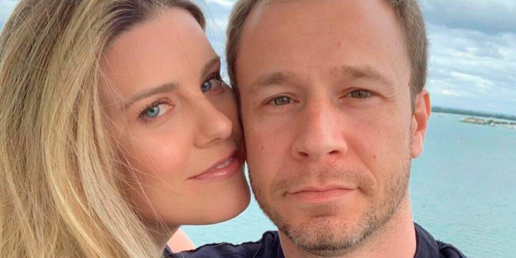 Daiana Garbin é casada com o apresentador Tiago Leifert (foto: Reprodução)