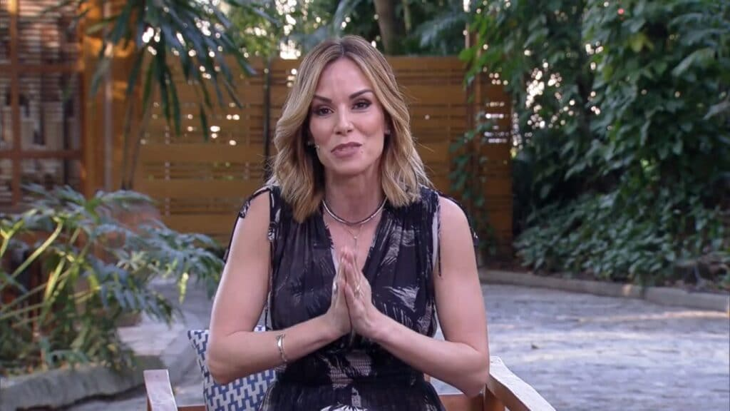 Ana Furtado foi uma das apresentadoras do É de Casa de 4 de setembro (foto: Reprodução/TV Globo)