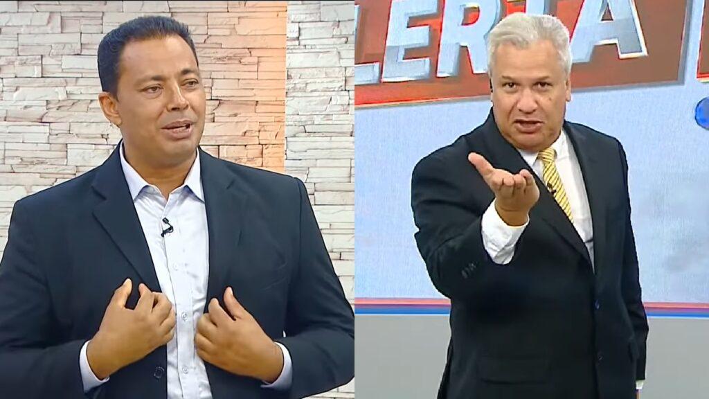 Emanoel Cardoso reclamou do comportamento de Sikêra Jr. (foto: Reprodução/TV A Crítica)