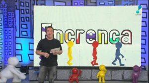 Tatola Godas em sua despedida do Encrenca: adeus passou despercebido pelo público (foto: Reprodução/RedeTV!)