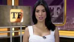 Flávia Noronha foi apelidada com o nome de uma marca de tapetes (foto: Reprodução/RedeTV!)