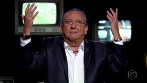 Improviso de Galvão Bueno teve mais público do que Domingão e Fantástico (foto: Reprodução/TV Globo)