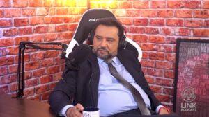 Geraldo Luís se emocionou em entrevista para Reinaldo Gottino (foto: Reprodução/Record)