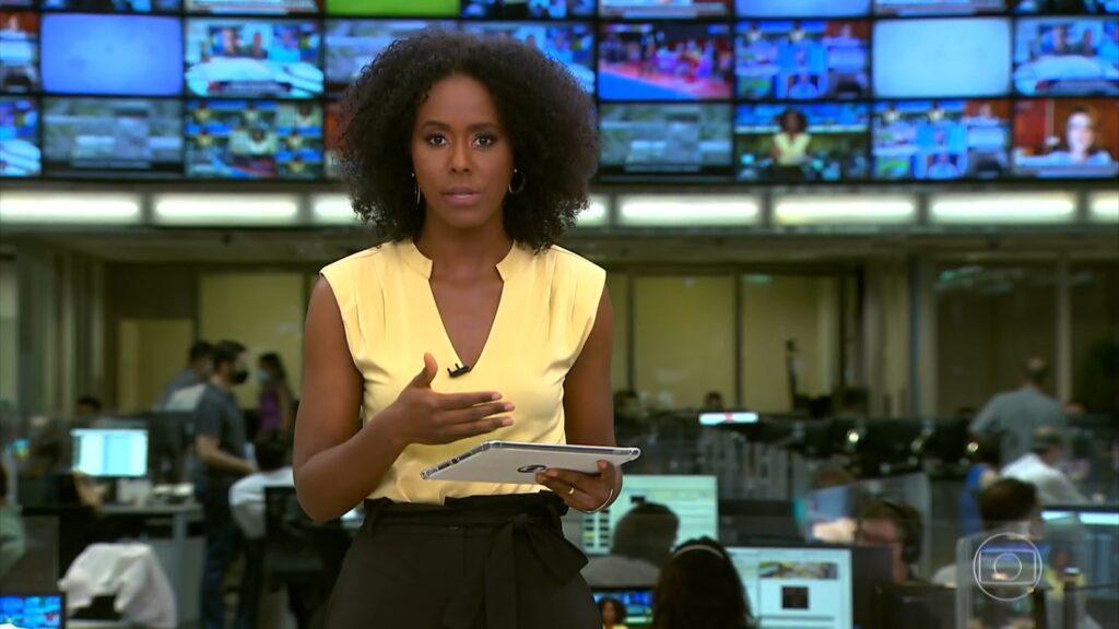 Maju Coutinho perderá espaço para infomerciais durante alguns dias (foto: Reprodução/TV Globo)