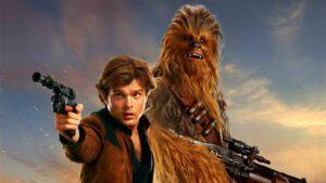 Foto de divulgação do filme Han Solo: Uma História Star Wars, que será exibido na Tela Quente