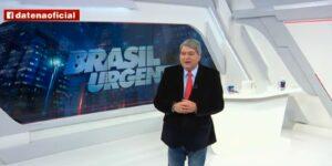 José Luiz Datena é considerado persona non grata na Globo (foto: Reprodução/Band)