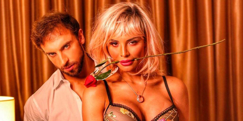 Léo Lins está em um relacionamento com Aline Mineiro, confinada em A Fazenda 13 (foto: Reprodução)
