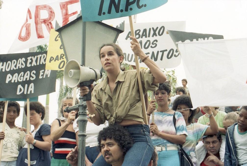 Lucélia Santos em cena da novela Vereda Tropical (foto: Divulgação/TV Globo)
