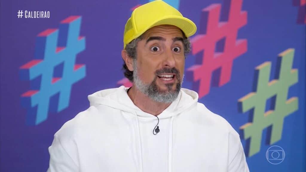 Marcos Mion foi aprovado pelo público no comando do novo Caldeirão (foto: Reprodução/TV Globo)