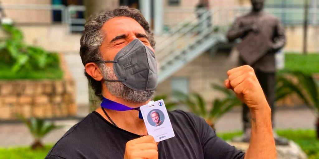 Marcos Mion passou por um perrengue na porta da Globo de São Paulo (foto: Reprodução)