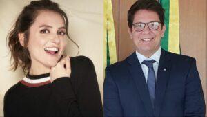 Mônica Iozzi não quer nem saber de Mario Frias (foto: Reprodução)