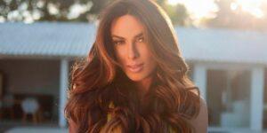 Nicole Bahls era casada com Marcelo Bimbi, que decidiu fugir para o Acre (foto: Reprodução)