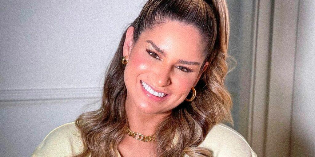 Pâmella Holanda foi casada com o DJ Ivis, preso após episódios de violência doméstica (foto: Reprodução)