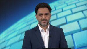 Paulo Renato Soares substituirá William Bonner no Jornal Nacional (foto: Reprodução/TV Globo)