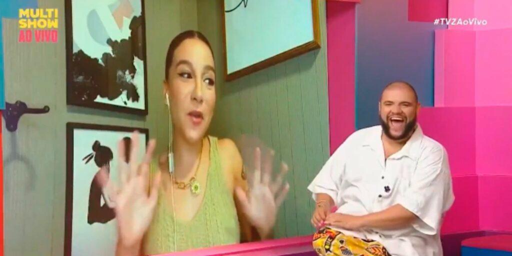 Priscilla Alcântara desconversou sobre participação no The Masked Singer Brasil (foto: Reprodução/Multishow)