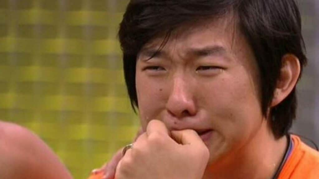 A vida não anda fácil para o ilusionista Pyong Lee (foto: Reprodução/TV Globo)