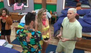 Clima esquentou entre Rico Melquiades e MC Gui em A Fazenda 13 (foto: Reprodução)