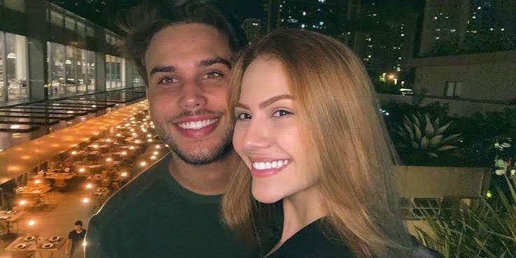 Jonathan Couto e Sarah Poncio não estão mais juntos (foto: Reprodução)