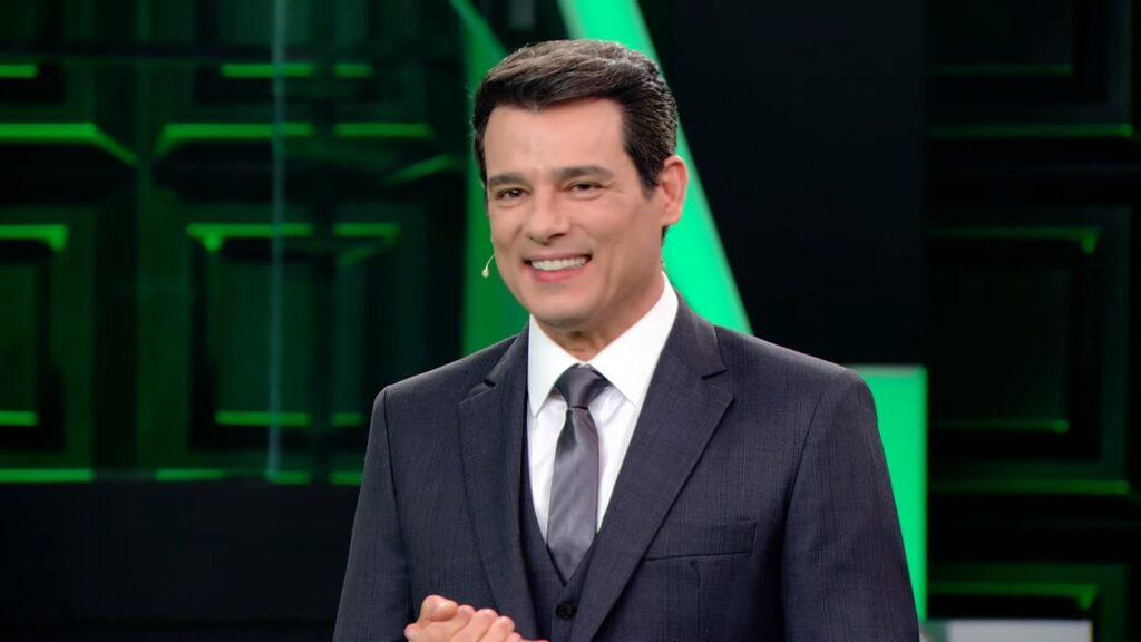Celso Portiolli perdeu a vice-liderança pela primeira vez no comando do Show do Milhão (foto: Reprodução/SBT)