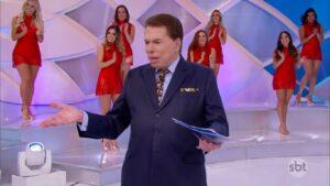 Silvio Santos é o dono do SBT: emissora teve sua pior audiência do ano (foto: Reprodução/SBT)