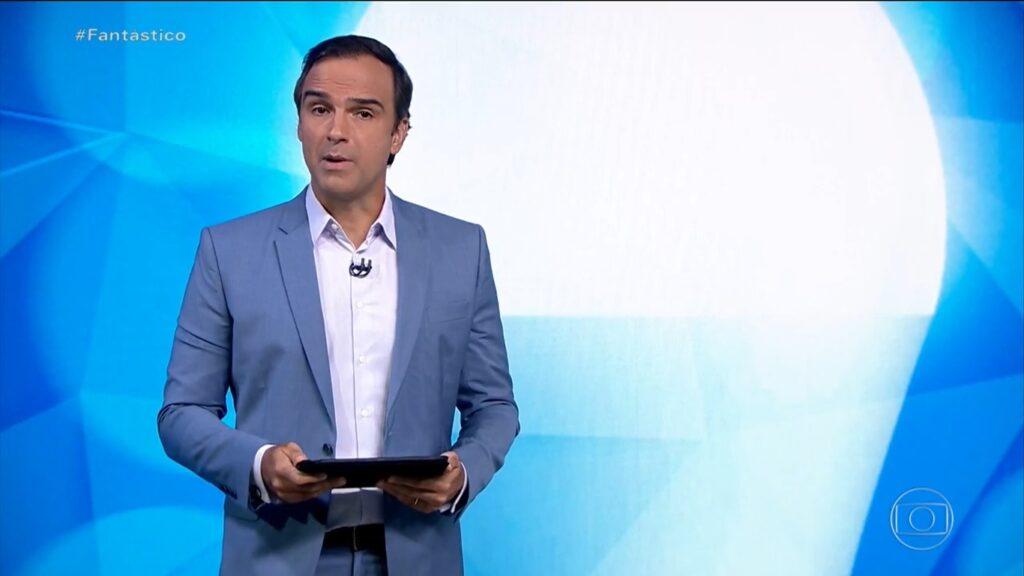Tadeu Schmidt foi convidado para apresentar o Big Brother no próximo ano (foto: Reprodução/TV Globo)