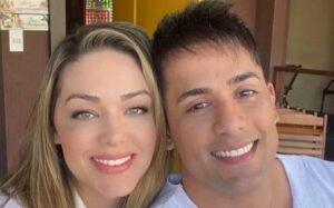 Nem mesmo a famigerada operação separou Tânia Mara e Tiago Piquilo (foto: Reprodução)