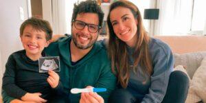 Valeska Bruzzi e Rafael Vilaça estão esperando o seu segundo filho (foto: Reprodução)