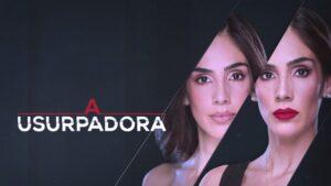 Logotipo da novela da nova versão de A Usurpadora, em exibição no horário nobre do SBT