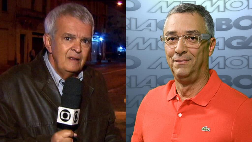 Imagem com montagem das fotos dos repórteres Alberto Gaspar e Ari Peixoto