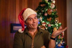 Imagem do ator Leandro Hassum em cena do filme Tudo Bem no Natal que Vem
