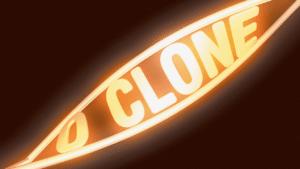 Imagem com logotipo da novela O Clone, da Globo